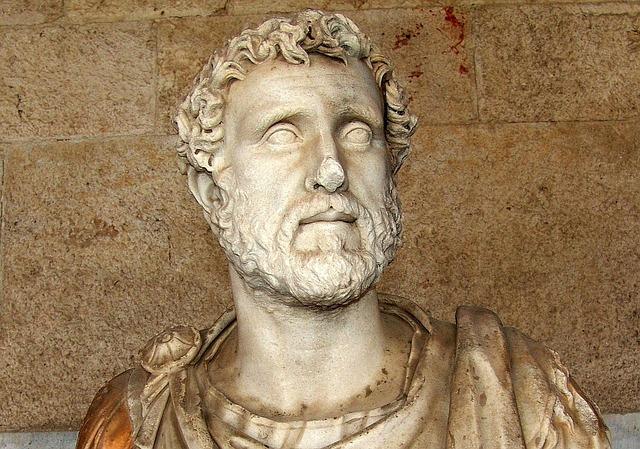 socha římana