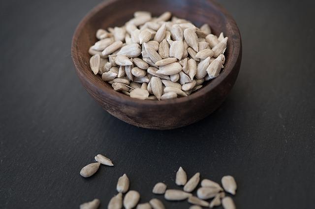 sušená semínka