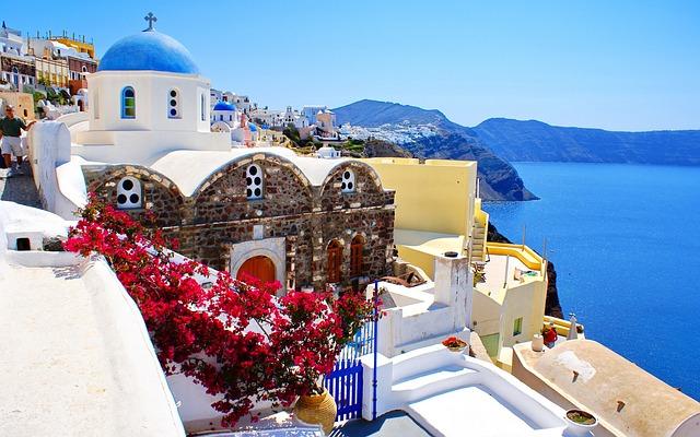 řecké Santorini