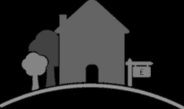 dům na prodej, stromy