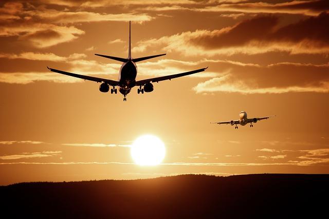 dvě latadla u slunce
