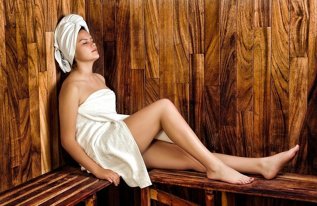 chvilka v sauně