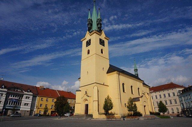 kostel v příbrami