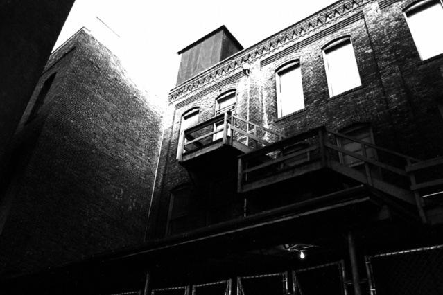 únikové schodiště