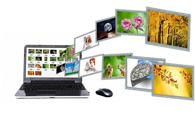 počítačová grafika, fotografie