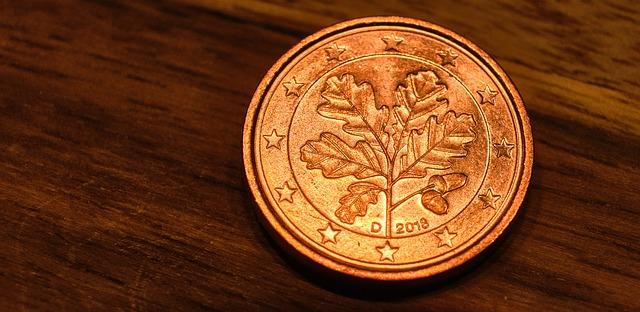 eurocentová mince