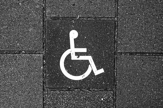 značka nástupu pro zdravotně postižené